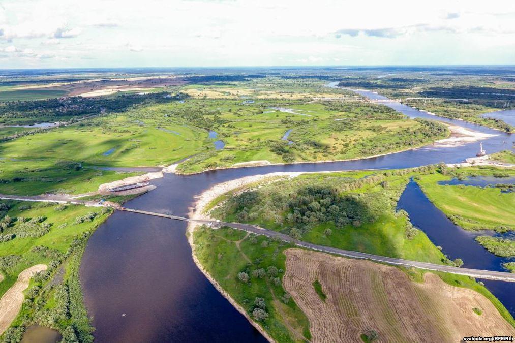 Река Припять. Фото: svaboda.org